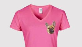 Dames V-shirt