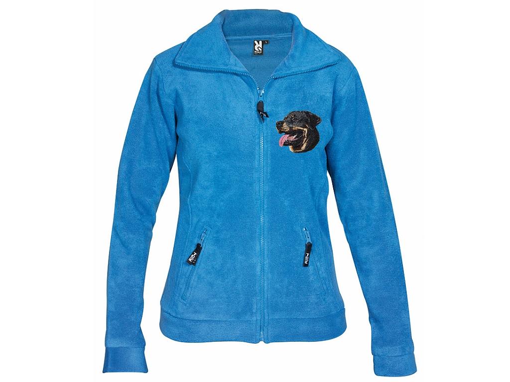 Dámská mikina fleece s výšivkou 139007a807